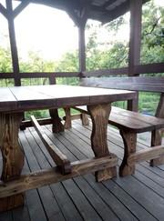 Мебель на дачу или в загородный дом  - натуральное дерево