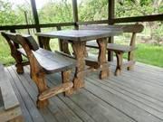 Мебель на дачу или в загородный дом  - натуральное дерево  - foto 0