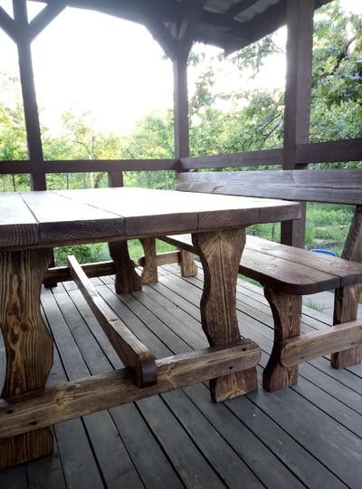 Мебель на дачу или в загородный дом  - натуральное дерево  - main