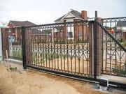 Производство и установка откатных ворот Запорожья. - foto 2
