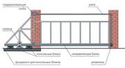 Производство и установка откатных ворот Запорожья. - foto 3