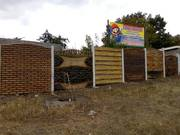 Покраска бетонного забора Запорожье.Цветные заборы - foto 1