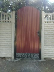 Еврозабор,  калитки,  ворота с установкой под ключ в Запорожье