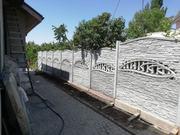Еврозабор с воротами в Запорожье - foto 1