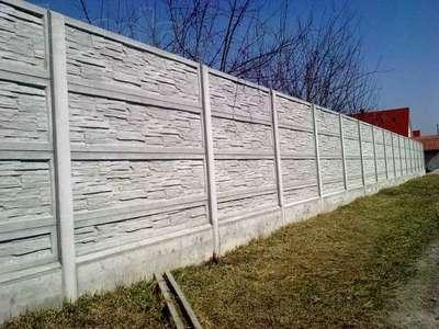 Заливка фундамента под забор. Фундамент под бетонный забор. - main