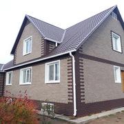 Битумная плитка для облицовки фасадов