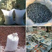 Песок,  цемент,  щебень в мешках с доставкой