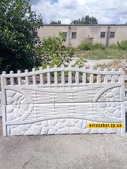 Железобетонный забор заказать. Еврозабор Запорожье - foto 0
